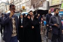حضور فرزندان گرامی امام در راهپیمایی 22 بهمن
