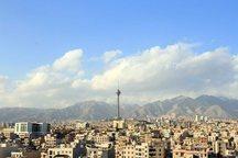 کیفیت هوای تهران با شاخص 99 سالم است