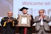 دکترای افتخاری دانشگاه شیراز به رئیس دانشگاه  آلمان رسید