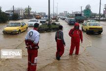 افزون بر ۴۰۰ نفر در بارندگیهای اخیر، به مکانی امن منتقل شدند