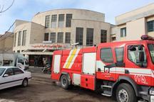 مانور آتش سوزی در بیمارستان خلخال برگزار شد