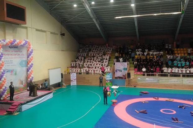 مسابقات ورزشی قهرمانی دانش آموزان پسر کشور در شهرکرد آغاز شد