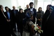 معاون امور زنان و خانواده رئیس جمهوری وارد اردبیل شد