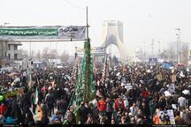 مسیرهای ۱۰ گانه راهپیمایی ۲۲ بهمن در تهران اعلام شد/ رییس جمهور سخنران اصلی راه پیمایی خواهد بود