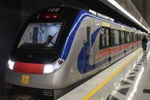 تست سرد قطعه جنوبی خط 6 مترو تهران انجام شد
