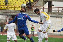 لیگ دسته دوم فوتبال؛ پیروزی قاطع داماش برابر شهرداری بم
