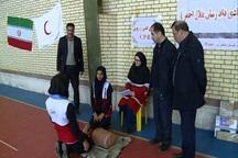 المپیاد مهارت های امدادی هلال احمر در مشگین شهر برگزار شد