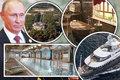 تصاویر/ زندگی 150 میلیارد پوندی پوتین!