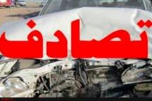 22 مصدوم در برخورد مینیبوس با کامیون در مشهد