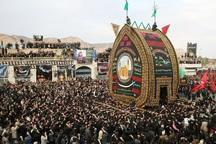 آیین سنتی نخل برداری در استان یزد برگزار شد