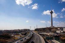 کیفیت هوای تهران با شاخص 85 سالم است