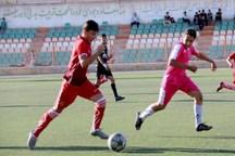 تیم فوتبال شهدای بافق از فولاد بردسیر کرمان شکست خورد
