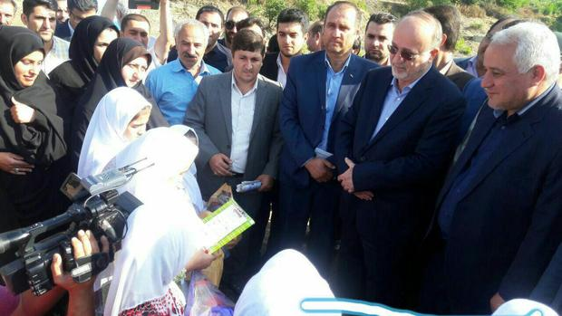 افتتاح بزرگترین مرکز تکثیر ماهیان خاویاری گیلان در تالش