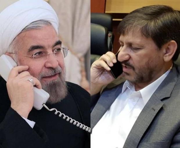 روحانی در تماس با استاندار سمنان وضعیت این استان را پیگیر شد