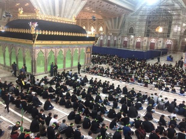 گردهمایی جوانان عاشورایی در حرم امام خمینی (ره) برگزار شد