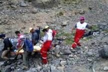 نجات کوهنورد کرمانشاهی در ارتفاعات اشترانکوه