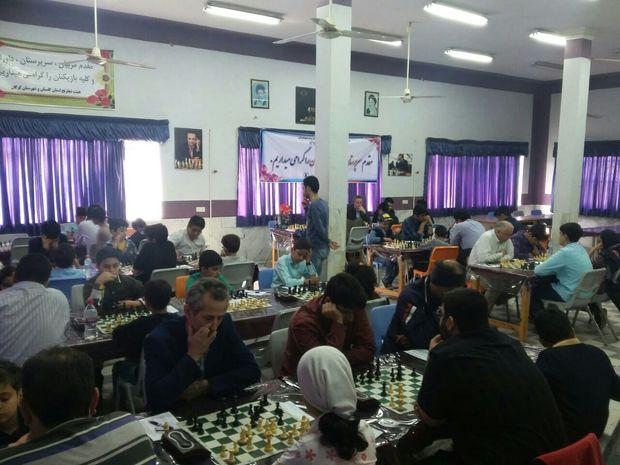 رقابت های شطرنج جام مبعث در گلستان آغاز شد