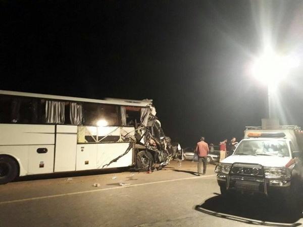 تصادف اتوبوس مشهد - تهران 12 کشته و مجروح برجا گذاشت