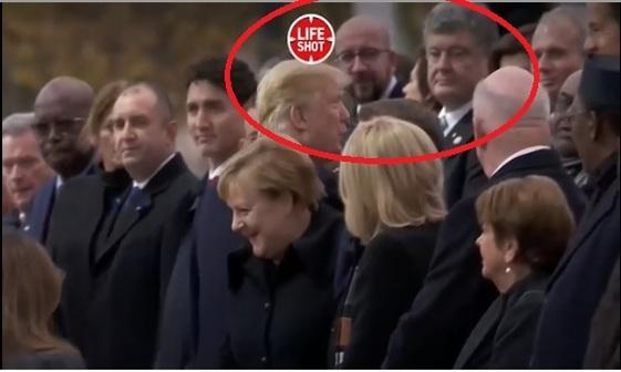 ترامپ با پروشنکو دست نداد+ عکس
