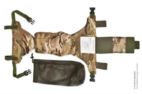 لباس نظامی ضد انفجار که با بتن مخلوط هم بشورید سالم می ماند! + عکس