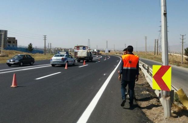 پروژه های عمرانی در جاده های خراسان شمالی متوقف شد