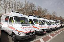انحراف خودرو پراید در داخل شهر ارومیه موجب مصدومیت پنج تن شد