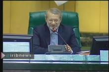 شوخی لاریجانی با حجتی، وزیر جهاد کشاورزی