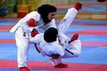 تیم کاراته دختران گیلان صدرنشین لیگ برتر کشور است