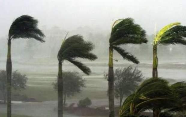 سرعت باد در آبادان به 58 کیلومتر رسید