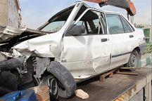 برخورد پراید و کامیونت در بردسیر موجب کشته شدن ۲ نفر شد
