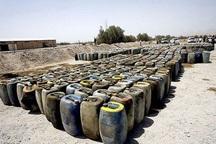 20هزار لیتر سوخت قاچاق در دلیجان کشف شد