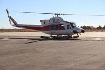 آشیانه بالگرد پایگاه اورژانس هوایی الیگودرز افتتاح شد