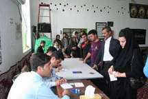 حضور حماسی مردم پارس آباد در انتخابات