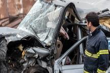 10 فقره تصادف در جاده های خراسان رضوی رخ داد