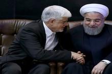 دیدار مهم عارف و حسن روحانی