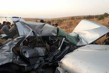 تصادف در قزوین،یک کشته و ۲ مصدوم برجای گذاشت