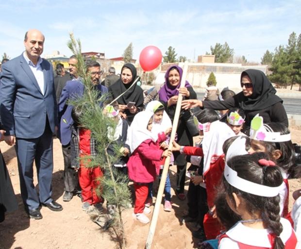 طرح باغبان کوچولو در کرمان اجرا شد