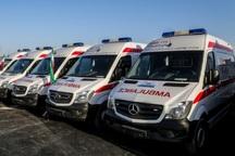 60 دستگاه آمبولانس به ناوگان امدادی اورژانس هرمزگان اضافه شد