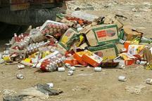 افزون بر 1500 کیلوگرم مواد غذایی فاسد در رفسنجان معدوم شد