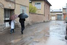 بارندگی در خلخال افزایش یافت