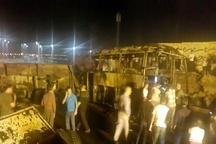 اسامی جانباختگان سانحه اتوبوس مسافربری در سنندج