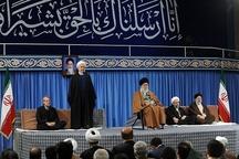 روحانی: دولت، مردم، نیروهای مسلح و همه ارکان نظام در کنار هم ویرانی ها و خرابی ها را خواهند ساخت