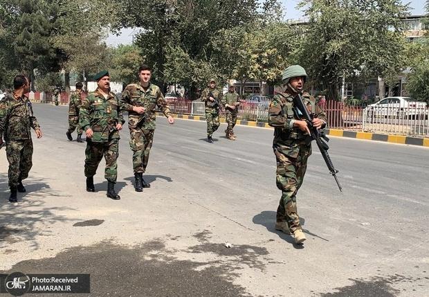 تصاویر حمله طالبان به کاروان حامل نیروهای خارجی/ کشته شدن یک نظامی آمریکایی