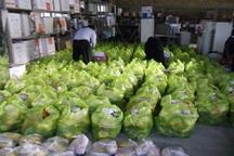 480 سبد غذایی بین مادران باردار روستایی در مهاباد توزیع شد