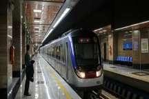 جابجایی روزانه 3 میلیون و 800 هزار نفر با مترو تهران