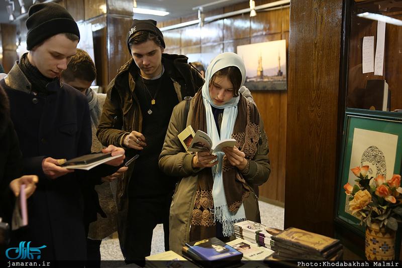 بازدید دانشجویان خارجی رشته زبان فارسی از جماران