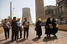 تولید چهار میلیون و 615 هزار و 153 مگاوات برق در 2 نیروگاه کرمانشاه