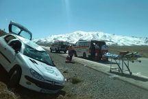 واژگونی خودرو در گلپایگان 7 مصدوم برجا گذاشت