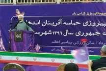 انتخاب روحانی، خواست ملت به تدوام سیاست های موفق دولت تدبیروامید بود