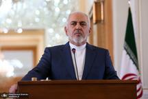 ظریف: تیم بی خرابکاری در دیپلماسی و سرپوش گذاشتن بر تروریسم اقتصادی علیه ایران را دنبال میکند